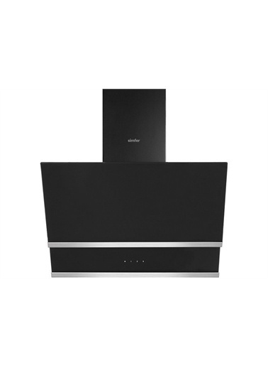 Simfer Simfer Siyah Cam Ankastre Set 1 (  8658 Davlumbaz - 3500 Ocak  - 7337 Fırın ) Renkli
